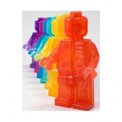 Figur Lego Rainbow Micro Anatomic Set (7pcs) by Jason Freeny Mighty Jaxx Geneva Store Switzerland