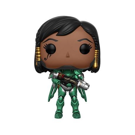Figur Pop ECCC 2017 Overwatch Emerald Pharah Limited Edition Funko Geneva Store Switzerland