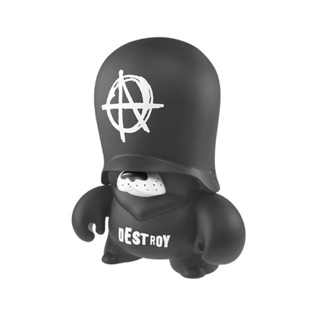 Figur Teddy Troops Kozik (25 cm) by Frank Kozik Designer Toys Geneva
