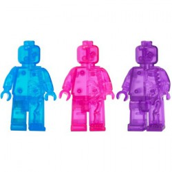 Figurine Lego Rainbow Micro Anatomic Winter Set (3 pcs) par Jason Freeny Mighty Jaxx Boutique Geneve Suisse