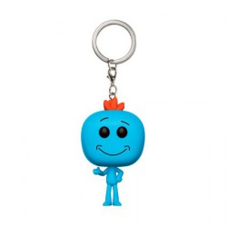 Figurine Pop Pocket Porte clés Rick and Morty Mr Meeseeks Funko Figurines Pop! Geneve