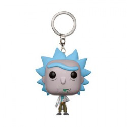 Figur Pocket Pop Keychains Rick and Morty Rick Funko Geneva Store Switzerland