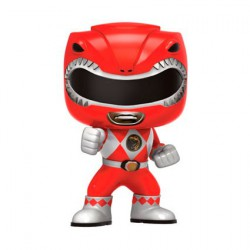 Figurine Pop TV Power Rangers Red Ranger (Rare) Funko Boutique Geneve Suisse