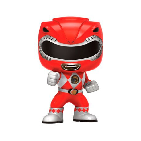 Figur Pop! TV Power Rangers Red Ranger (Rare) Funko Geneva Store Switzerland