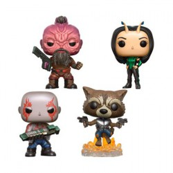 Figur Pop Marvel Guardians of the Galaxy 2 4-Pack 1 Limited Edition Funko Geneva Store Switzerland
