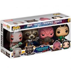 Figurine Pop Marvel Les Gardiens de la Galaxie 2 4-Pack 1 Édition Limitée Funko Boutique Geneve Suisse
