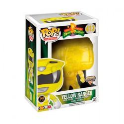 Figurine Pop TV Power Rangers Yellow Ranger Morphing Édition Limitée Funko Boutique Geneve Suisse