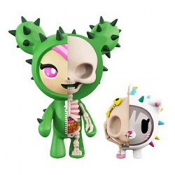 Figurine Sandy & Carina X-Ray par Jason Freeny x Tokidoki Mighty Jaxx Boutique Geneve Suisse