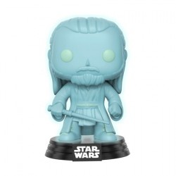 Figuren Pop Star Wars Celebration 2017 Qui Gon Jinn Phosphoreszirend (Holographic) Limitierte Auflage Funko Genf Shop Schweiz