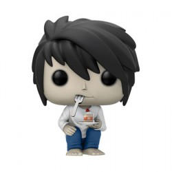 Figurine Pop Manga Death Note L with Cake Edition Limitée Funko Boutique Geneve Suisse