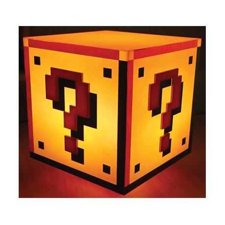 Figur Super Mario Bros Question Block Light Paladone Geneva Store Switzerland