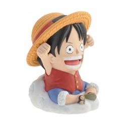 Figurine Mini Tirelire One Piece Luffy Plastoy Boutique Geneve Suisse