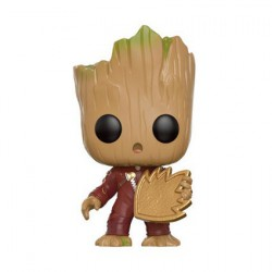 Figuren Pop Marvel Guardians of The Galaxy 2 Young Groot with Shield Limitierte Auflage Funko Genf Shop Schweiz