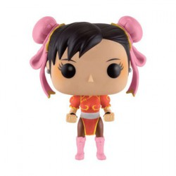 Figurine Pop Jeux Vidéo Street Fighter Chun-Li Red Outfit (Rare) Funko Boutique Geneve Suisse