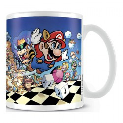 Figuren Tasse Super Mario Art Mug Hole in the Wall Genf Shop Schweiz