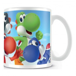 Figuren Tasse Super Mario Yoshi's Mug Hole in the Wall Genf Shop Schweiz