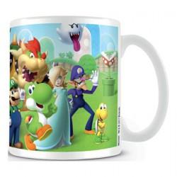Figuren Tasse Super Mario Mushroom Kingdom Mug Hole in the Wall Genf Shop Schweiz