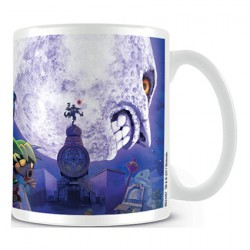 The Legend Of Zelda Majora's Mask Moon Mug