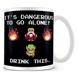 Figur The Legend Of Zelda Drink This Mug Hole in the Wall Geneva Store Switzerland