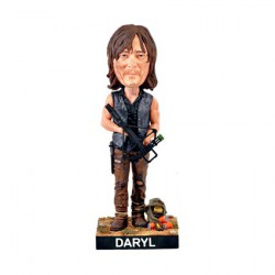 The Walking Dead Daryl Dixon Bobble Head Cold Resin