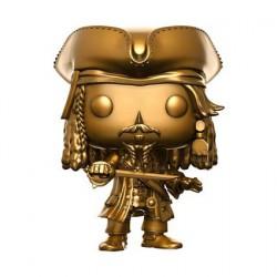 Figurine Pop Pirates des Caraïbes La Vengeance de Salazar Jack Sparrow Gold Edition Limitée Funko Boutique Geneve Suisse