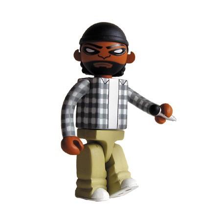 Figuren Bitdz O'Shay von Oakland's Warning Label Design Strangeco Genf Shop Schweiz