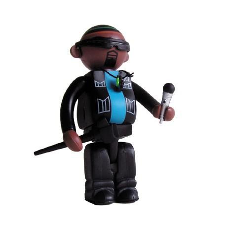Figur Bitdz Kid Zulu by Oakland's Warning Label Design Strangeco Little Toys Geneva