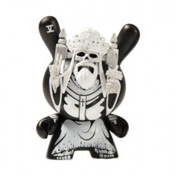 Figurine Dunny Arcane Divination Hierophant par Jon Paul Kaiser Kidrobot Designer Toys Geneve