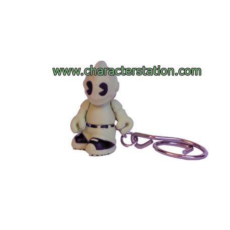 Figur Porte clés Kidbomber Phosphorescent by Tristan Eaton & Paul Budnitz Kidrobot Little Toys Geneva