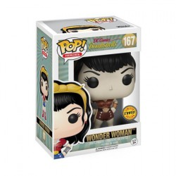 Figur Pop DC Bombshells Wonder Woman Chase Limited Edition Funko Geneva Store Switzerland