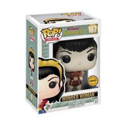 Figurine Pop DC Bombshells Wonder Woman Chase Edition Limitée Funko Boutique Geneve Suisse