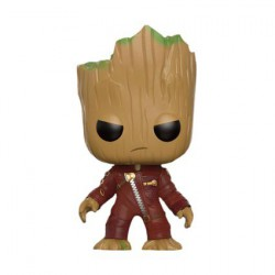 Figurine Pop Marvel GotG 2 Young Groot in Suit Angry Edition Limitée Funko Boutique Geneve Suisse