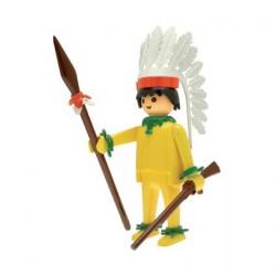 Figur Playmobil Nostalgia Indian Chief 25 cm Plastoy Geneva Store Switzerland
