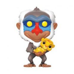 Figurine Pop Disney The Lion King Rafiki With Simba Funko Boutique Geneve Suisse