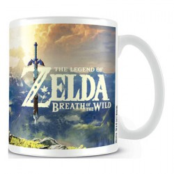The Legend of Zelda Breath of Wild Sunset Mug
