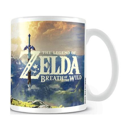 Figuren Tasse The Legend of Zelda Breath of Wild Sunset Mug Hole in the Wall Genf Shop Schweiz