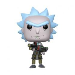 Figurine Pop Rick et Morty Weaponized Rick Funko Figurines Pop! Geneve