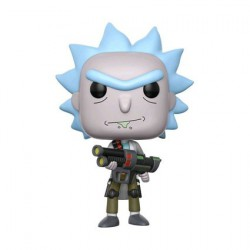 Figurine Pop Rick et Morty Weaponized Rick Funko Arrivages Geneve