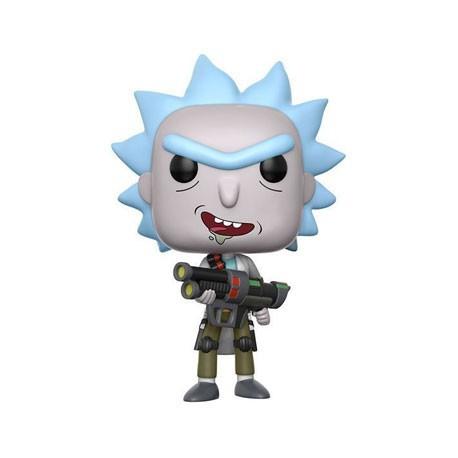 Figuren Pop Cartoons Rick und Morty Weaponized Rick Chase Funko Genf Shop Schweiz