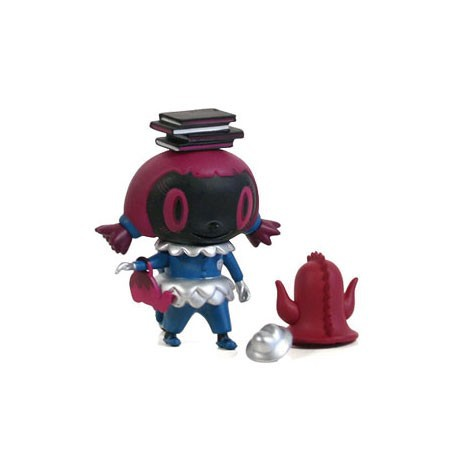 Figur City Folk Series School Girl Noir by Nathan Jurevicius Kidrobot Geneva Store Switzerland