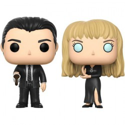 Figuren Pop SDCC 2017 Twin Peaks Black Lodge Cooper und Laura 2-pack Funko Figuren Pop! Genf