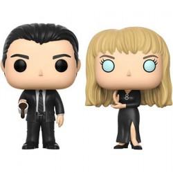 Figurine Pop SDCC 2017 Twin Peaks Black Lodge Cooper et Laura 2-pack Funko Boutique Geneve Suisse