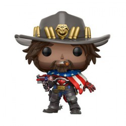 Figurine Pop Overwatch USA McCree Edition Limitée Funko Boutique Geneve Suisse