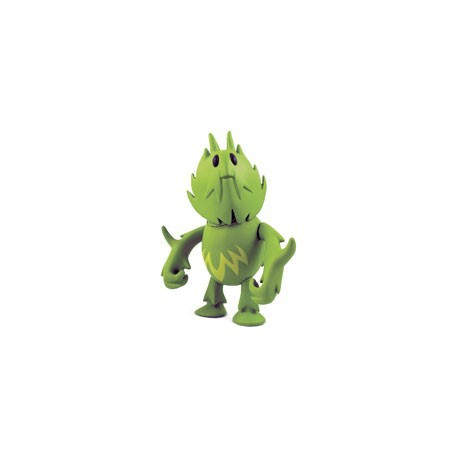 Figur Monsterism 3 Green by Pete Fowler Playbeast Little Toys Geneva