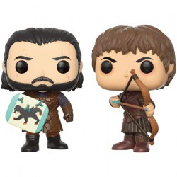 Figurine Pop Game of Thrones Jon Snow and Ramsay Bolton Duel 2-Pack Funko Boutique Geneve Suisse