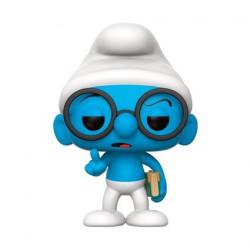 Figurine Pop Schtroumpfs Schtroumpf à Lunettes (Vaulted) Funko Boutique Geneve Suisse