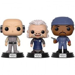 Figurine Pop Star Wars Cloud City 3-pack Lobot, Ugnaught et Bespin Guard Funko Boutique Geneve Suisse