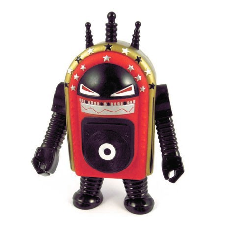 Figur Dj Shadow & Cut Chemist Juke-Bot by Paul Insect Divers Large Toys Geneva
