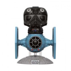 Figurine Pop Rides Star Wars Tie Fighter avec Tie Pilot Funko Boutique Geneve Suisse
