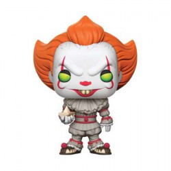 Figurine Pop Film IT Pennywise with Boat (Rare) Funko Figurines Pop! Geneve